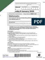 IAL-Edexcel-Pure-Math-1-January-2020