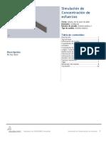 Concentración de esfuerzos-Análisis estático 1-1