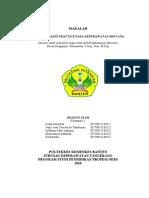 EVIDENCE BASED PRACTICE PADA KEPERAWATAN BENCANA