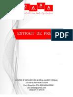 CARA Extrait de presse hebdomadaire 25  au 30 mai 20.pdf