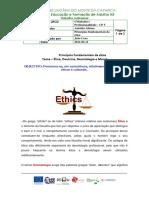 CP 5 Fich. Trab. n.º 1 - A Ética e a Deontologia