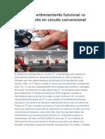 Efectos del entrenamiento funcional vs entrenamiento en circuito convencional de fuerza