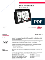 Version 5.0 English. Leica PaveSmart 3D User Manual