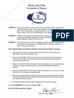 Mayors Revised Declaration of Disaster Delta