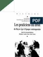 Gilles, Les Praticiens Du Droit
