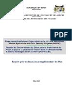 4. Benin_GAFSP proposal FR