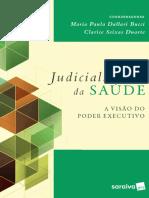 Judicialização da Saúde - A visão do Poder Executivo_100419151204