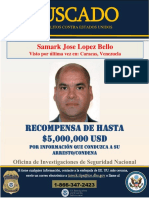 Samark López Wanted Spanish