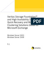 Veritas Storage Foundation and High Availability Solutions