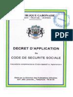 Décret_d_application_code de sécurité sociale