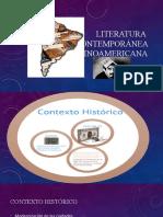 DIAPOSITIVAS LITERATURA  Contemporánea latinoamericana