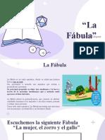 Act. 2 PPT La Fábula