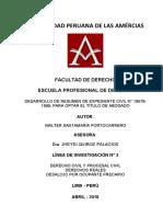 DESARROLLO DE RESUMEN DE EXPEDIENTE CIVIL N° 19579-1999
