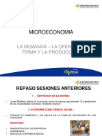 MICROECONOMIA -PROYECCION DE LA DEMANDA 2020