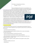 Ficha Informativa Fernando Pessoa ort+¦nimo