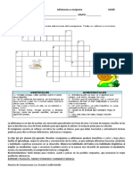 FICHA DE COMUNICACIÓN Adivinanzas y crucigrama (1)