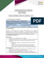 Guía de actividades y rúbrica de evaluación - Unidad 2 - Paso 3 - Enseñanza Aprendizaje desde la transposición Didáctica (1)