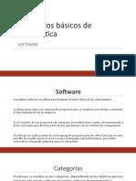 Conceptos básicos - Software