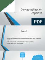 1 Conceptualización cognitiva
