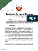 202006 - RDE n.° 068-2020 modificación de las bases (24.6.2020) - Beca Presidente