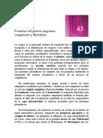 43. Proteinas Del Plasma Sanguineo, Coagulacion y Fibrinolisis