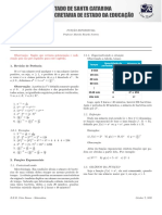 Resumo de funções exponenciais