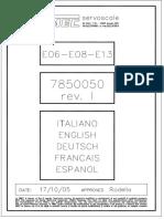 VIMEC E-06 Esquemas 7850050L(E06E13)