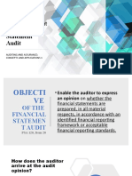 The Independent Financial Statement Audit