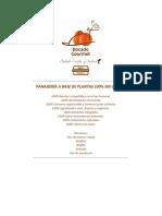 RECETARÍO PANADERIA A BASE DE PLANTAS