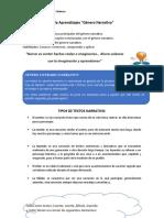 Guía aprendizaje 5to basico. - 2