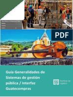 Guía General portales Sistemas financieros de gobierno