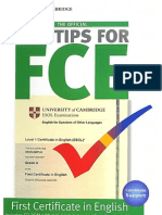 Top Tips for FCE