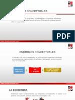 PPT - Sesion 2 - 1 ESTIMULOS CONCEPTUALES