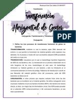 Cuestionario Transferencia Genes