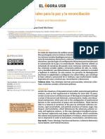 Barreras psicosociales para la paz y la reconciliación_Juan David Villa_Daniela Barrera