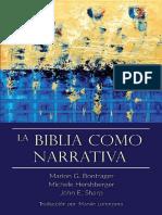 Bontrager, Herhberger & Sharp - La Biblia Como Narrativa.pdf