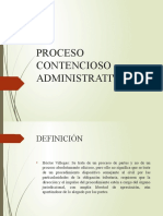 16 Proceso Contencioso Administrativo y Económico Coactivo