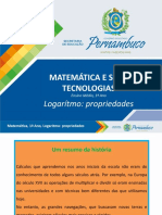 Logaritmo - propriedades