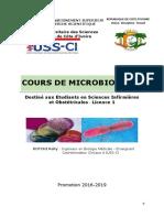 _Cours de Microbiologie