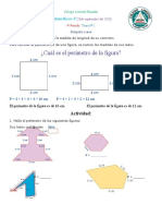 4 N 1 Clase y actividad Matemáticas 4 Perimetro y àrea 28 de sepriembre de 2020 Reprogramado