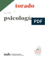 folleto doctorado