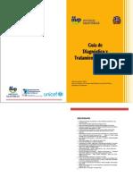 guia de diagnóstico y tratamiento del cólera 2010