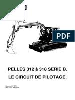 372- Pilotage pelles 312 à 318 série B