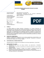 1 MECTR. SILABO - DIBUJO TECNICO  FLAVISUR