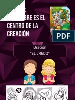 EL HOMBRE CENTRO DE LA CREACION