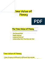 1 Time Value of Money