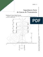 2. Impedancia Serie de Líneas de Transmisión