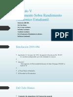 05 Rendimiento Académico.odp