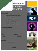 PORTAFOLIO DE HISTORIA DE VIDA - Grupo 03