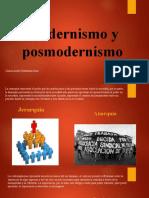 Modernismo y posmodernismo